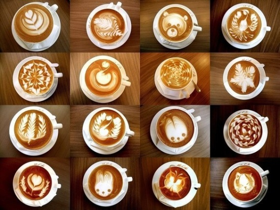 Лига жратвы: Coffee art